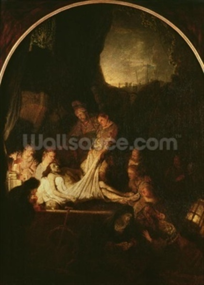 The Entombment, c.1639 (oil on panel) wall mural