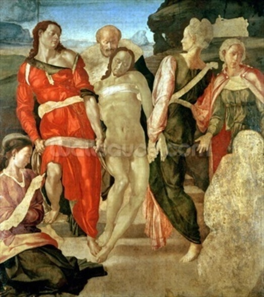 The Entombment (unfinished) (panel) wall mural