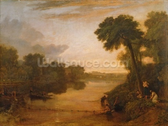 The Thames near Windsor, c.1807 wall mural