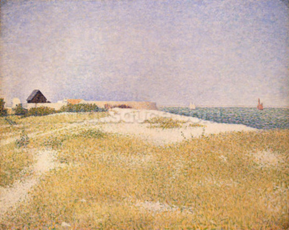 View of Fort Samson, 1885 (oil on canvas) wall mural
