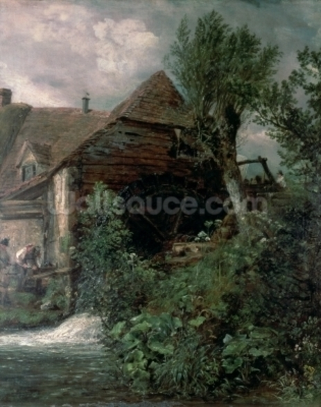 Watermill at Gillingham, Dorset wall mural