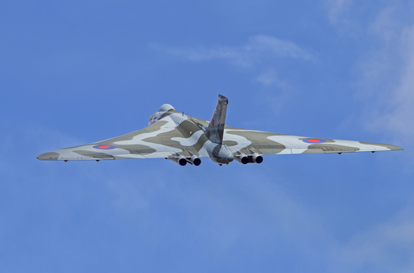 Avro Vulcan Bomber rear view mural wallpaper