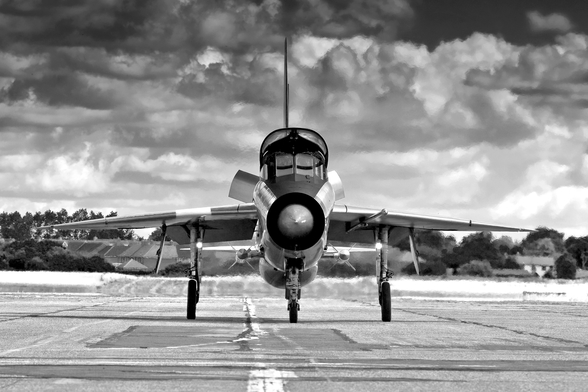English Electric Lightning T5 wallpaper mural