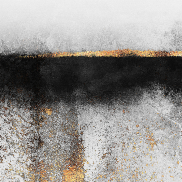 Soot and Gold wallpaper mural