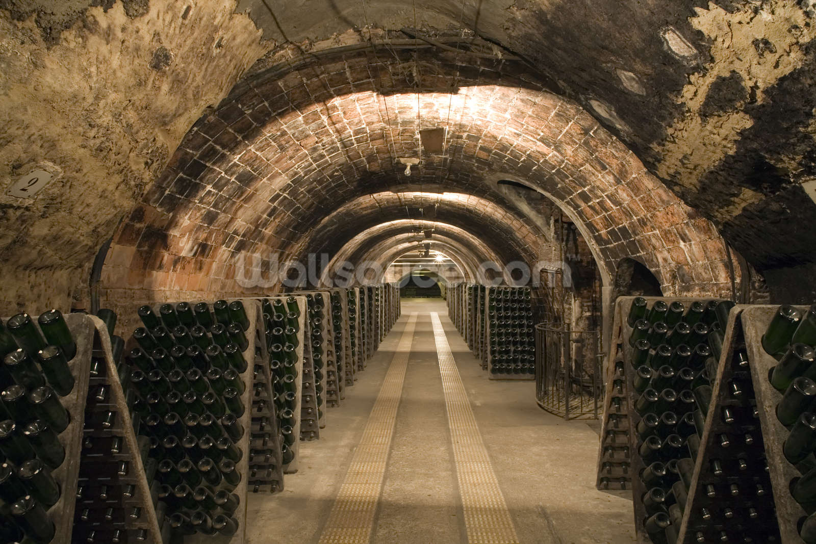 delightful wine cellar wall mural #4: Save your design for later