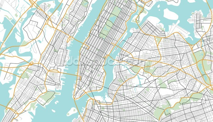 City Map Of New York City.New York City Map