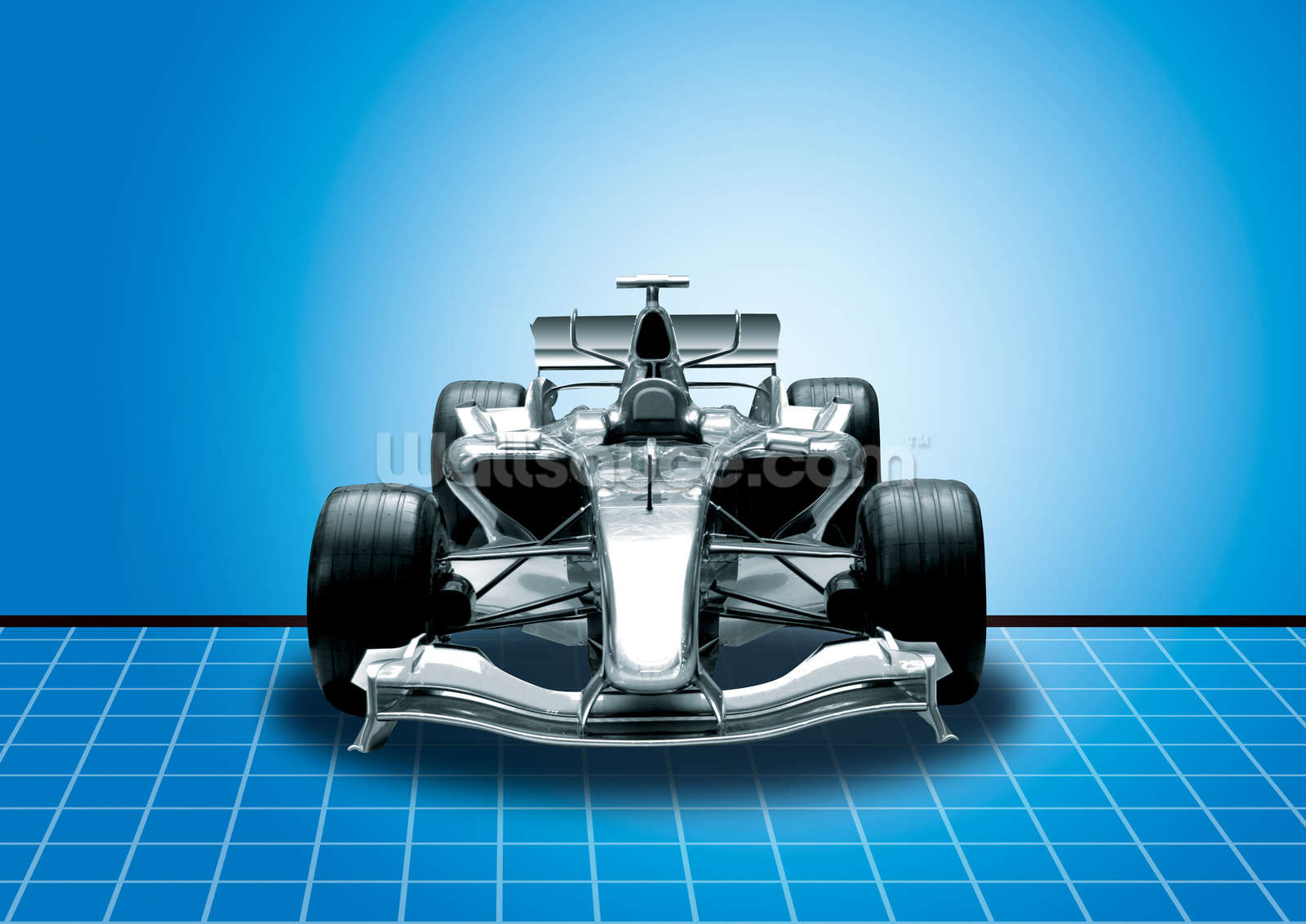 Racing car wall mural wallsauce usa for Car wallpaper mural