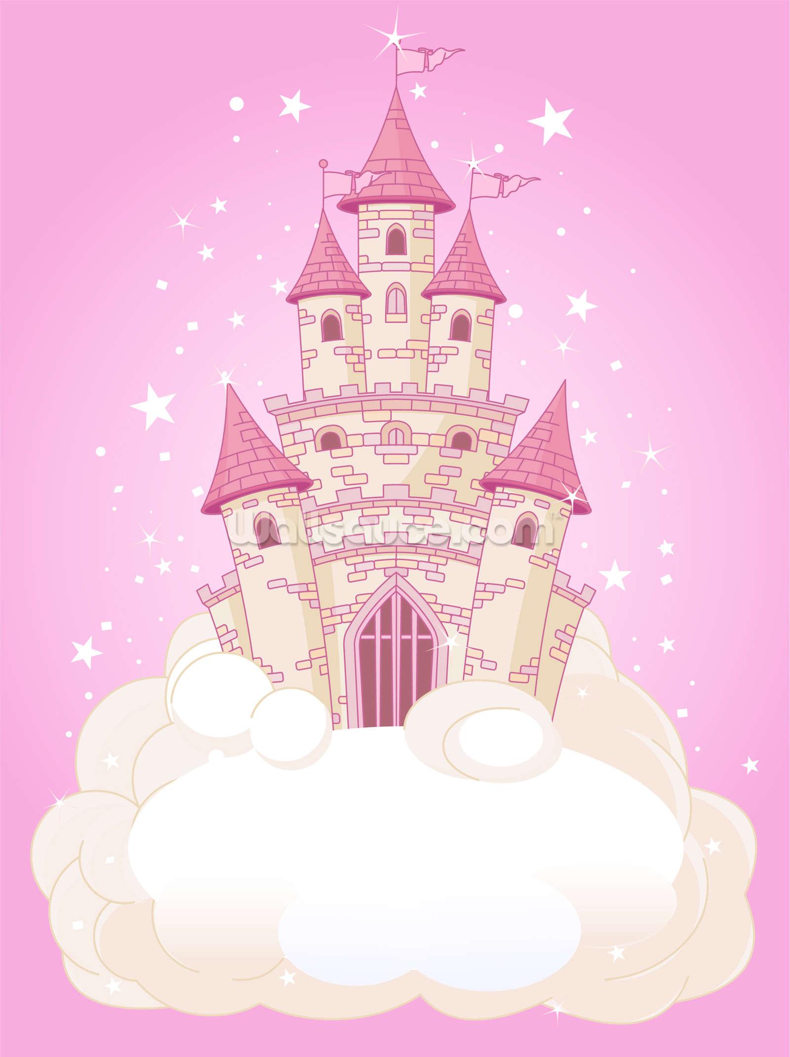 Fairy Castle Wall Mural Photo Wallpaper