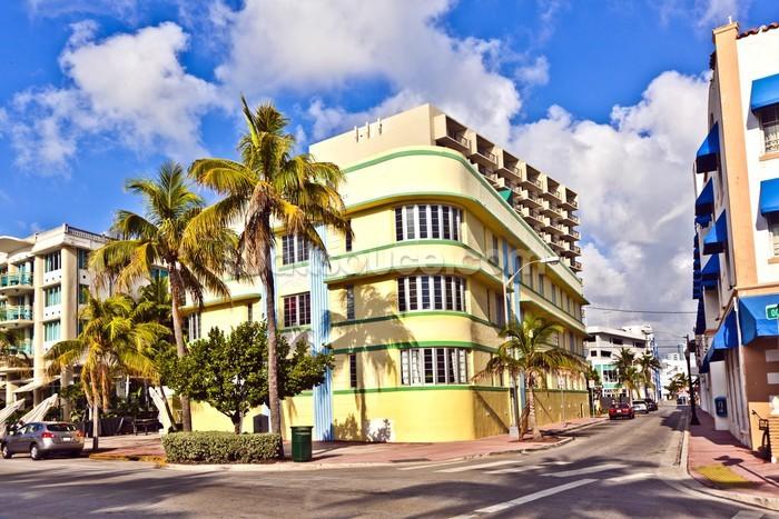 Miami Art Deco Wall Mural Photo Wallpaper Part 71