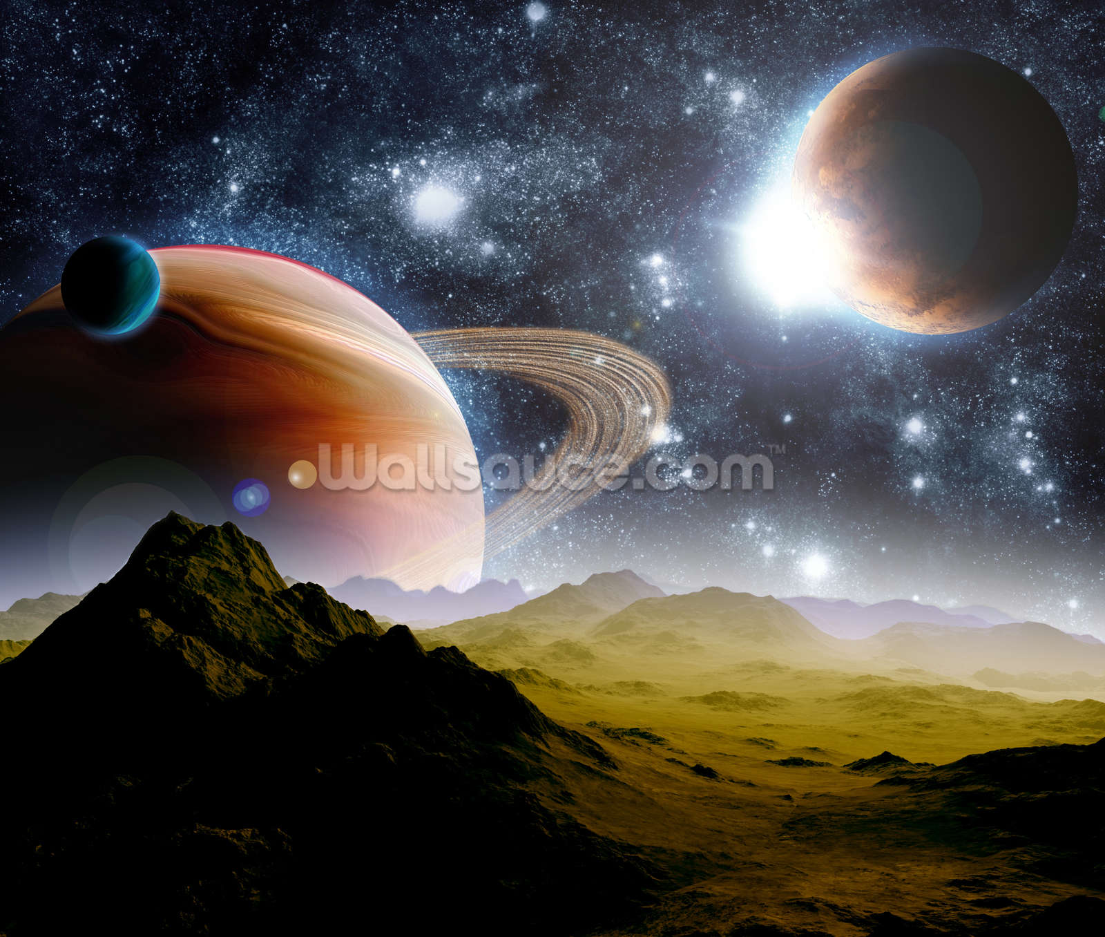 Wonderful Deep Space Concept Wall Mural Photo Wallpaper Awesome Ideas