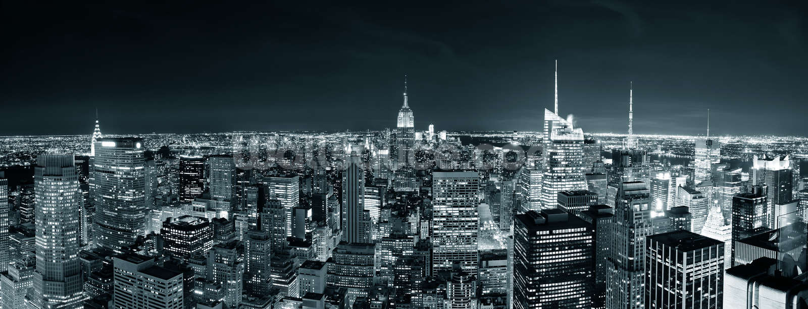 New York Manhattan Skyline Wallpaper Mural