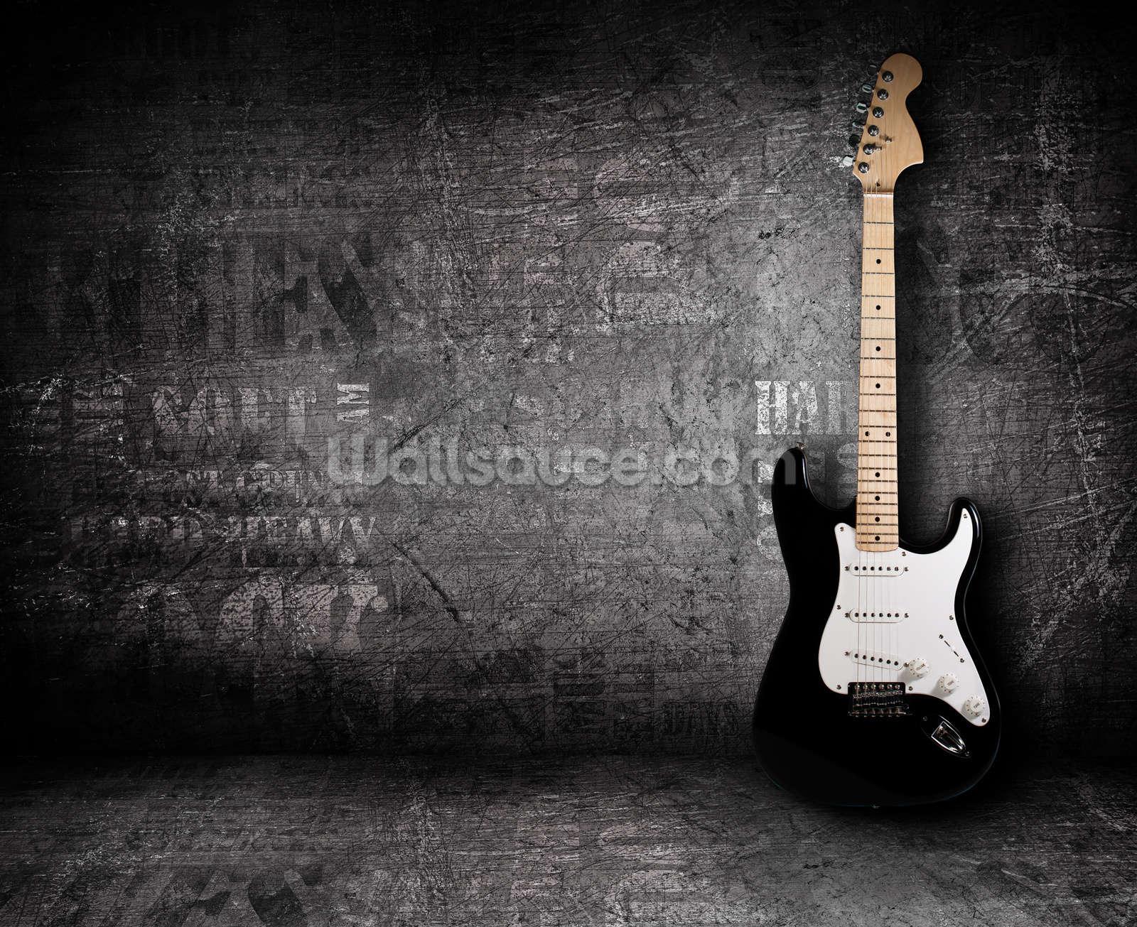 Electric Guitar Wall Mural Photo Wallpaper