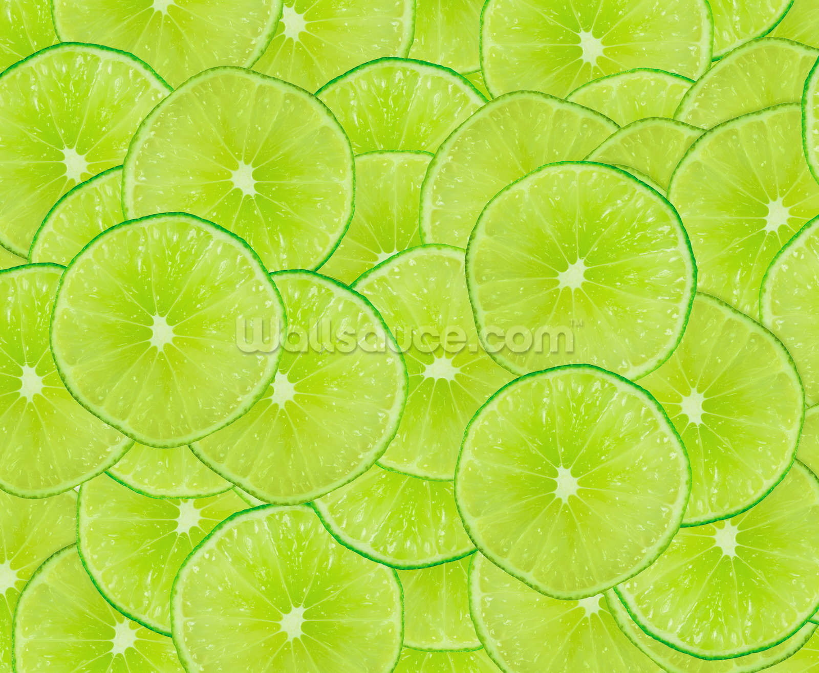 Limes wallpaper wall mural wallsauce for Lime green wallpaper for walls