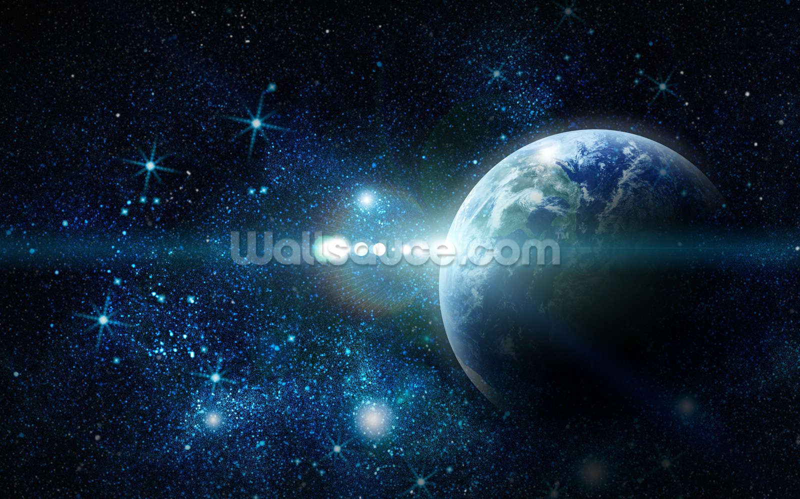 realistic planet earth wallpaper wall mural wallsauce realistic planet earth wall mural photo wallpaper
