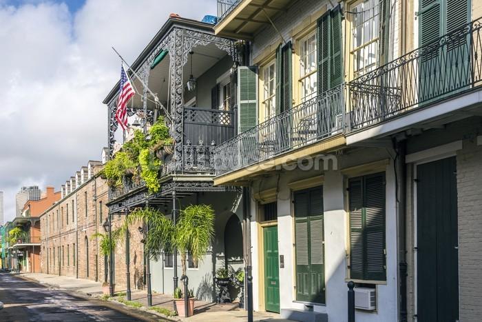 New Orleans French Quarter Mural Wallpaper