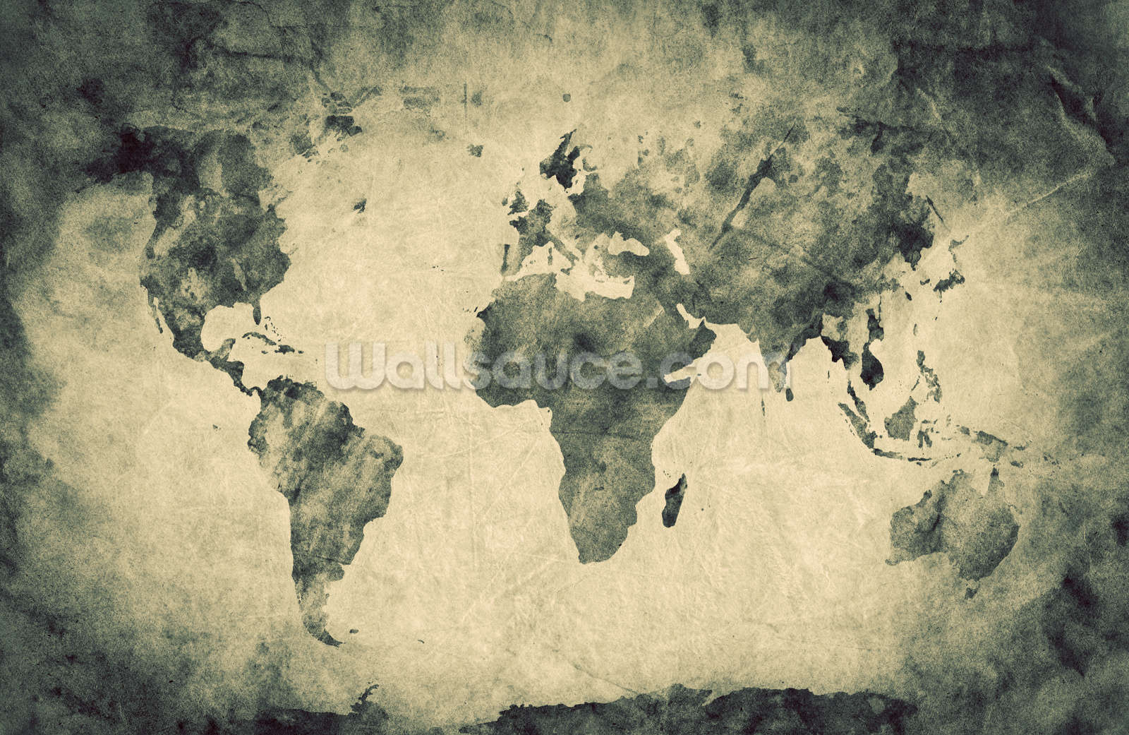 Ancient World Map Sketch Wall Mural Photo Wallpaper Part 80