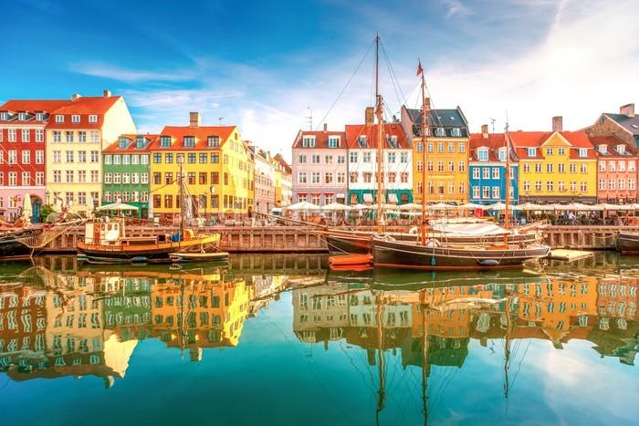 Nyhavn copenhagen wallpaper mural wallsauce dk - Copenhagen wallpaper ...