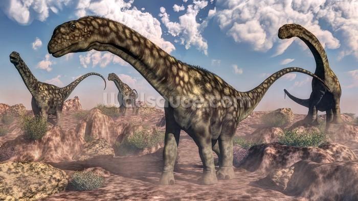 Argentinosaurus dinosaurs wallpaper wall mural wallsauce for Dinosaur mural wallpaper
