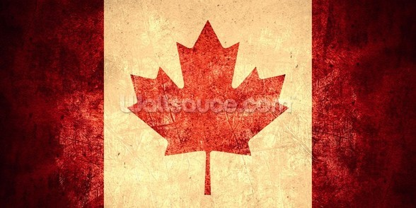 Canadian Flag wallpaper mural