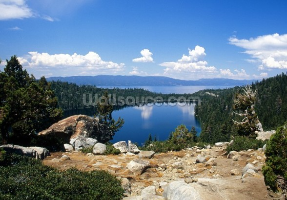 Lake Tahoe View wall mural