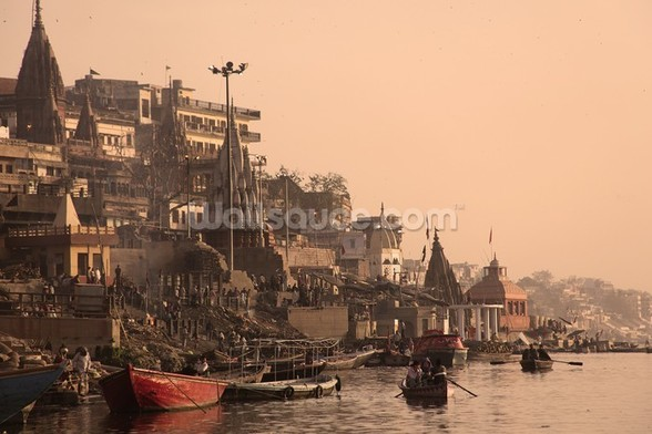 River Ganges wall mural