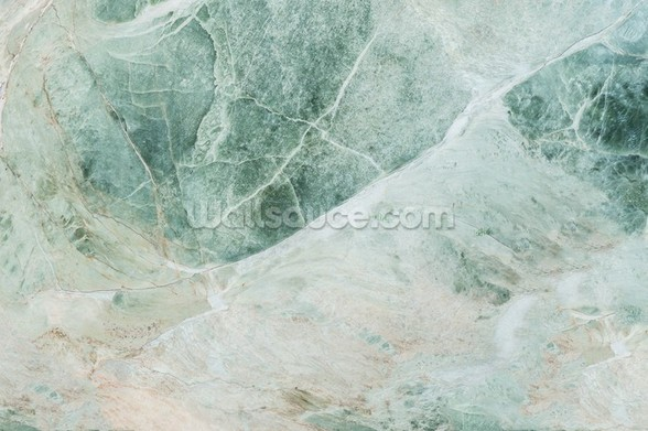 Marble Greens wall mural