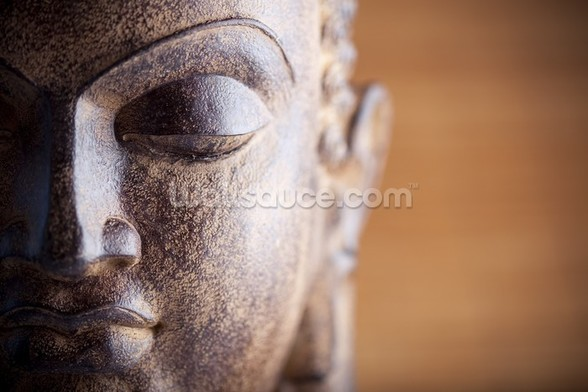 Statue of Buddha mural wallpaper