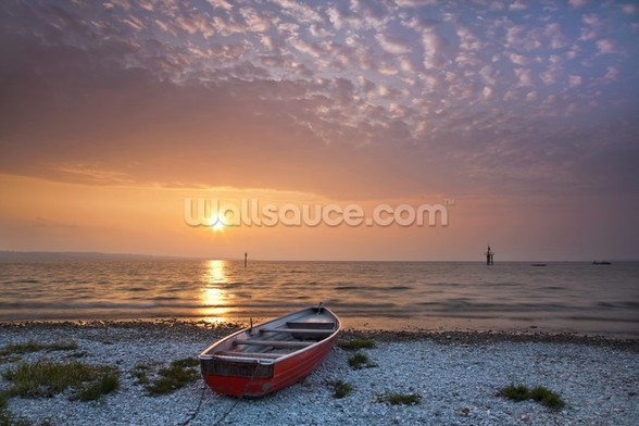 Beautiful Morning Sunrise wall mural