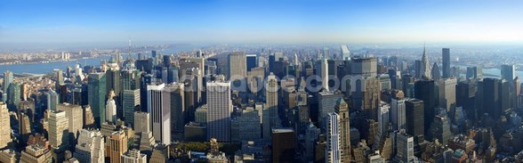 Manhattan Panoramic wall mural