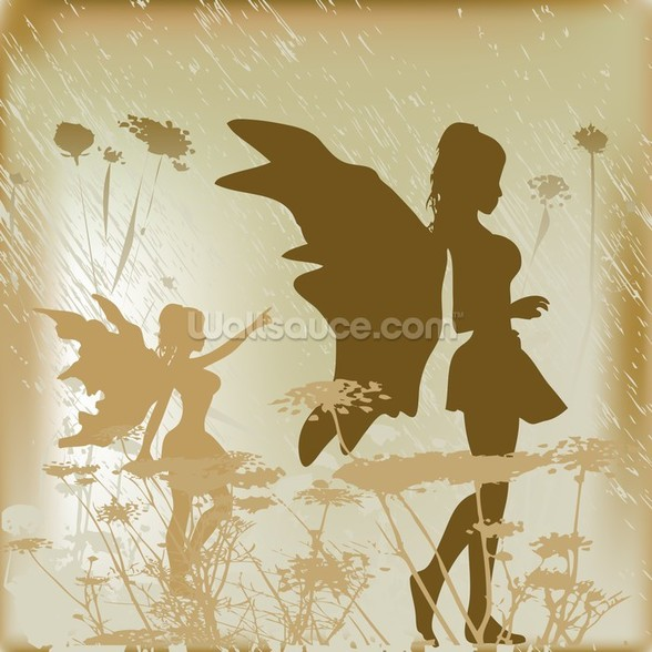 Fairy Background wall mural