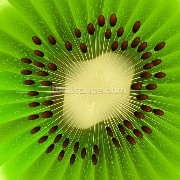 Kiwi Fruit wall mural