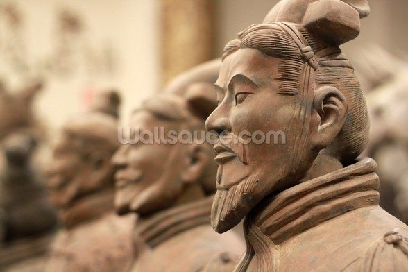China Terracotta Warriors wallpaper mural