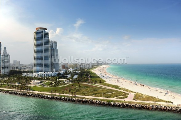 Miami Beach Florida wall mural