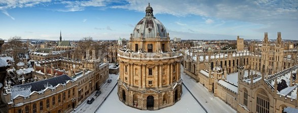Oxford Skyline mural wallpaper