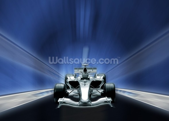Racing Car mural wallpaper
