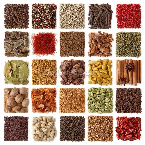 Indian Spice Selection wall mural