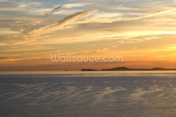 St Brides Bay, St Davids mural wallpaper