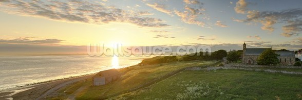 Lindisfarne Sunset wall mural