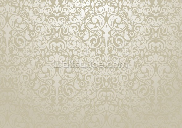 Silver - Wallpaper wall mural