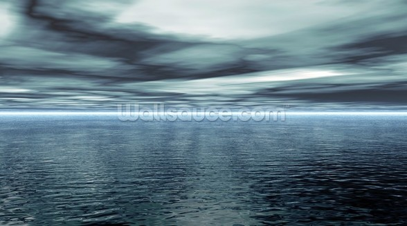 Calm Water mural wallpaper