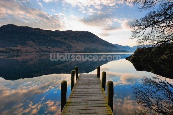 Ullswater Jetty mural wallpaper