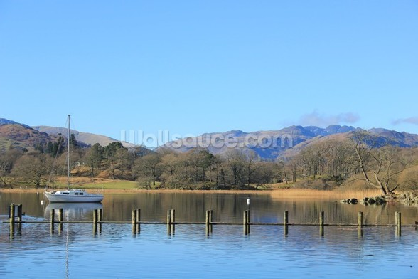 Lake Windermere mural wallpaper