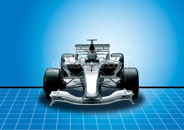 Racing Car wallpaper mural