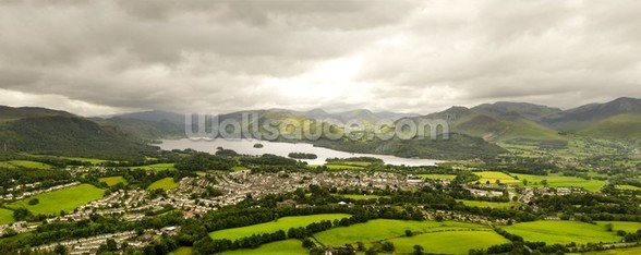 Lake Derwentwater wallpaper mural