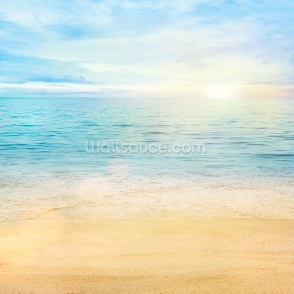 Sea and Sand Tranquility wall mural
