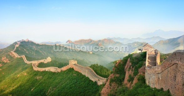Great Wall of China Landscape mural wallpaper