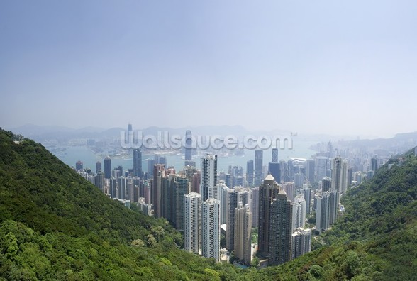 Victoria Peak Hong Kong wallpaper mural