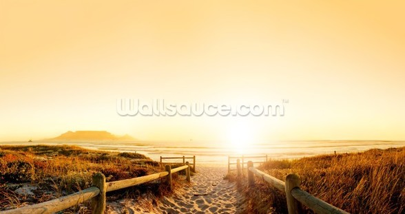 Sand Dune Sunset wall mural