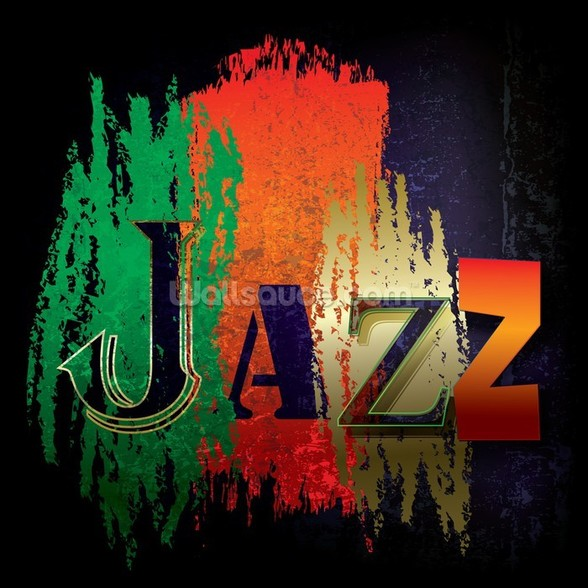 Just Jazz wall mural