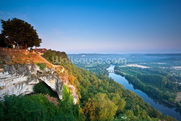 Dordogne River mural wallpaper